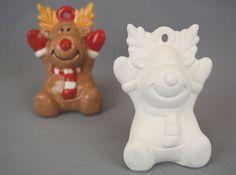 Ceramic Bisque Authentic Minnie Mouse Disney Mold Mm U