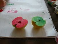 Children's Learning Activities: Fall Craft: Apples & Thankfulness