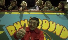 'Runaround.....NOW' Entertainment on ITV for 1970s kids, presented by Mike Reid.