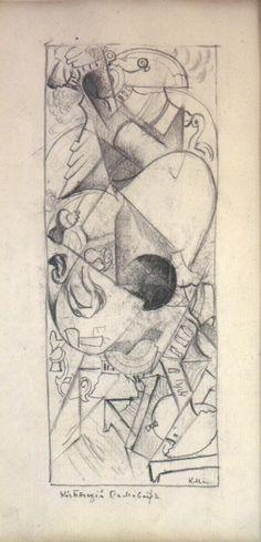 Kasimir Malewitsch – Kochender Samowar 1913