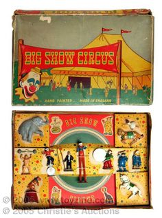 big show circus vintage toy