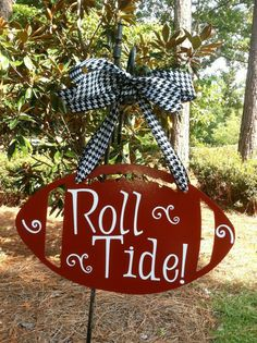 FOR JENNIFER AND FAMLY!! i like etsy | Alabama Roll Tide Football Wall Hanging | Things I Like!