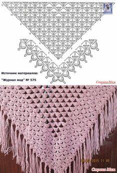 Crochet Shawl Shrug Scarfs 18 Ideas For 2019 Poncho Crochet, Crochet Shawl Diagram, Crochet Flower Scarf, Crochet Wrap Pattern, Crochet Shawls And Wraps, Crochet Chart, Crochet Scarves, Crochet Motif, Diy Crafts Crochet