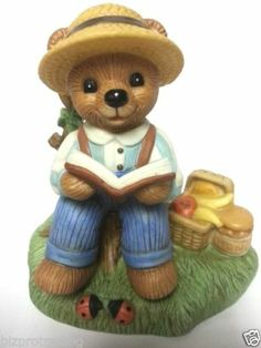... Home Interiors Bears on Pinterest  Home interiors, Figurine and Bears