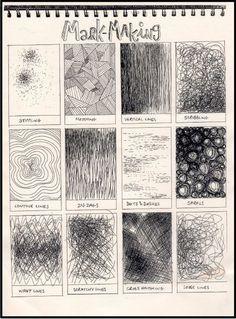 Итак - о линиях, текстурах, приёмах рисования графики. Чёрно-белый мир штрипочек, штрихов, пятен, точек и миллиарда линий. Секрет впринципе невелик - посмотреть…