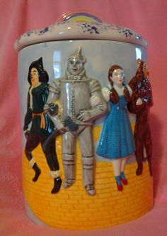 Collectible Wizard of Oz Cookie Jar by CarlenesCollectibles