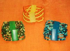 Radiant All Wooden Stretch Bracelets!