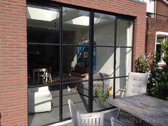 simply steel vierkante ramen