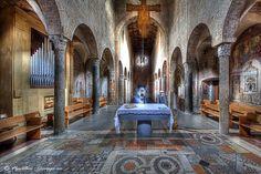 Spoleto, church  of San Gregorio Maggiore (XI century) Perugia - Umbria by Giuseppe Peppoloni