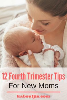 """12 Fourth Trimester Tips For New Moms PLUS Bennetts Hamper Giveaway    The term """"fourth trimester"""" might sound strange, as your baby is already born. Basically, the fourth trimester is the three-month period after birth when your new-born goes through great change and development, adjusting to life outside of the womb.    #giveaway #winwithkaboutjie #bennetts #newmom"""