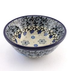 This cute little bowl will be perfect for storing your jewellery on your bedside table :) See #PolishPottery at http://slavicapottery.com