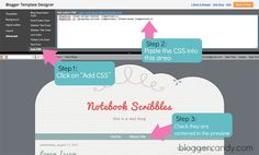 Blogger Candy   Want to center your Blogger pages links? It's easy. Here's how!