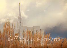 Beautiful Oquirrh Mountain Temple