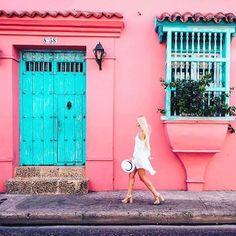 Cartagena, Colombia by Landscape Photography Tips, Photography Poses, Travel Photography, Landscaping Las Vegas, Earth City, Pintura Exterior, Colombia Travel, Vacation Style, Panama City Panama