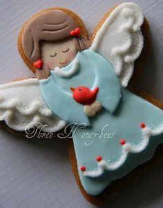 59 Best Cookies Angels Images In 2018 Decorated Cookies Angel