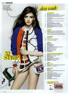 FAY for GRAZIA Netherlands - 2014. Women's Spring - Summer 2014 collection - Bomber Jacket.