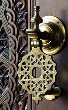 When is a doorknob not just a doorknob?  Where is the line between found objects and art?  Who knows?