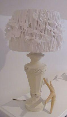 Emerald Cove: Pillowcase Lamp Shade....hmmm different