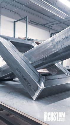 Custom Conference Table Base #wip Steel Modern Industrial Interiors IRcustom.com