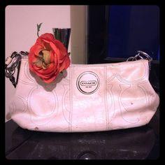Selling this Coach wristlet in my Poshmark closet! My username is: lizzette_82. #shopmycloset #poshmark #fashion #shopping #style #forsale #Coach #Handbags