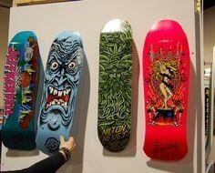 January ASE 2009, Santa Cruz Skateboards