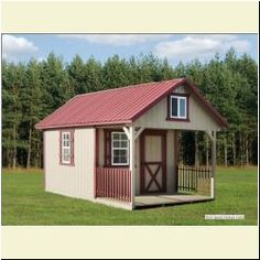 Click Here - To Find Out More Barn Storage, Built In Storage, Bungalow House Plans, Small House Plans, Build My Own House, Building A House, Cabin Porches, Amish House, Alpine House