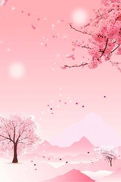 Terrific Images Blossoms background Style Cherry Blossoms tend to be many of the most gorgeous bouquets, being released in vivid colors. Anime Cherry Blossom, Cherry Blossom Petals, Cherry Blossom Background, Pink Blossom, Blossom Trees, Blossom Flower, Cherry Flower, Anime Backgrounds Wallpapers, Pretty Wallpapers