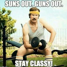 Stay classy today! And remember to use coupon code MEMORIALDAY2015 to save 10% at Suppz.com (expires at midnight)