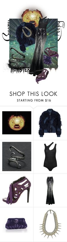 """Sea Monster (Halloween Costume)"" by valeria-mezhevikina ❤ liked on Polyvore featuring 3.1 Phillip Lim, Alix, Proenza Schouler, Banana Republic, Yochi, Michael Schmidt, halloweencostume and DIYHalloween"
