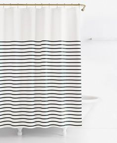 pink and white striped shower curtain. kate spade new york Harbour Stripe Shower Curtain  Curtains Accessories Bed Bath Macy s Allyson Johnson Floral Polka Dots Hot