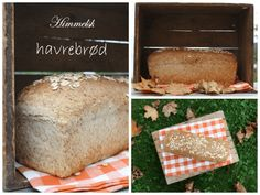 Himmelsk havrebrød – Bollefrua Easy Peasy, Lemon, Health Fitness, Food And Drink, Cheese, Baking, Times, Kitchens, Bakken