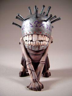 NEWS:Plucker figures painted by Storybox Ink Studios Monster Drawing, Monster Art, Vinyl Toys, Vinyl Art, Inspiration Artistique, Graffiti Doodles, Cool Monsters, Scrap Metal Art, Creepy Dolls