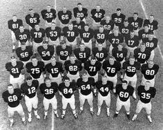 Alabama Football  Team 1964