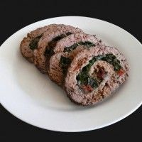 Rolled Meatloaf with Vegetables