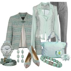 The freshness of mint by albaor on Polyvore featuring мода, Topshop, Pinko, Jil Sander, Seychelles, Ulysse Nardin, Mossimo and BKE