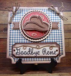 Cowboy Card - Simply Silhouette