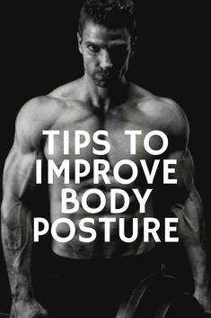 Posture is an essential for a man's image. All the well-fitted suits in the world won't help you if you can't stand up straight and command authority.
