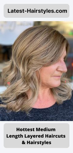 See these incredibly cute medium layered haircuts and hairstyles. #5 is our favorite and a MUST see! But I think you'll love them all! (Photo credit Instagram @amberskylight) Latest Hairstyles, Hairstyles Haircuts, Medium Length Hair Cuts With Layers, Medium Layered Haircuts, Photo Credit, Hair Styles, Cute, Instagram, Hair Plait Styles