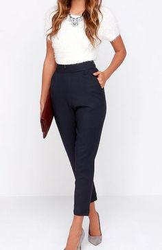 21 Jawdroppingly Cheap High Waisted Pants - Style Spacez