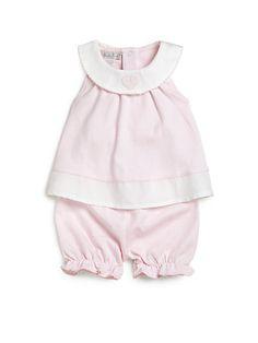 Kissy Kissy - Infant's Two-Piece Spring Piqué Sunsuit - Saks.com
