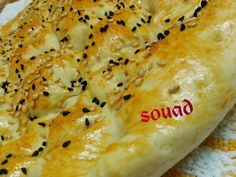 Turkish bread Elpida purer bread who Zgueth my life Baked Donut Recipes, Baked Donuts, Bread Recipes, Cooking Recipes, Arabian Food, Ramadan Recipes, Sweet Sauce, Turkish Recipes, Galette