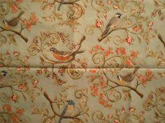 Legacy Studio Bird Pattern Fabric Nestled In The Branches Bird Scenic - 1 Yard