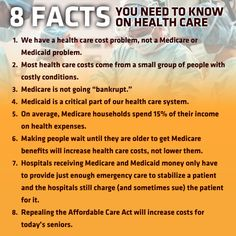 Eight Facts You Need To Know On Health Care http://www.aflcio.org/Blog/Political-Action-Legislation/Eight-Facts-You-Need-to-Know-on-Health-Care