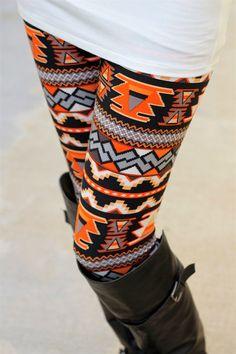 Desert Aztec Leggings