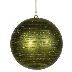Vickerman Ball Matte-Glitter Ornament & Reviews | Wayfair