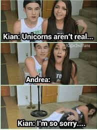When did kian and andrea start dating