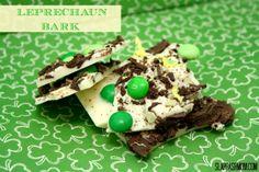 White Chocolate Leprechaun Bark | St. Paddy's Day | Beautifully Deliciousness