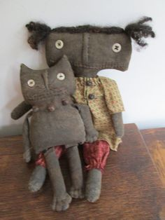 Millie and Moe by Bettesbabies on Etsy, $44.00