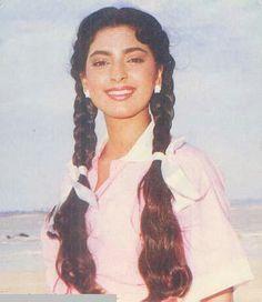 Juhi Chawla, Madhuri Dixit, Bollywood Stars, Actors & Actresses, Icons, India, Collection, Fashion, Actors