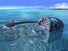 All World Visits: Dubai hotel under water